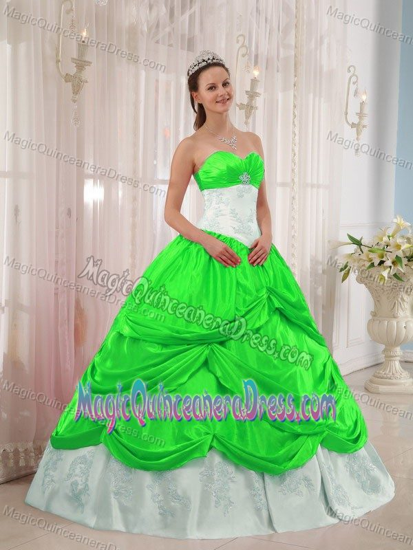 lime green | new quinceanera dresses