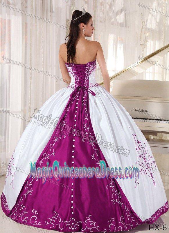 Fuchsia Sweet 15 Dresses,