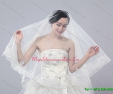 Two Tier Tulle Drop Veil Bridal Veils for Wedding Party
