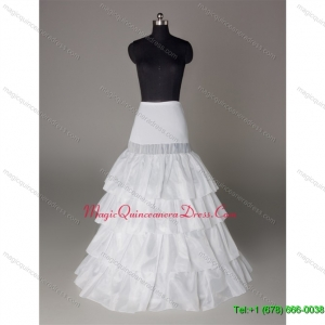 Wonderful Organza Floor length Petticoat in White