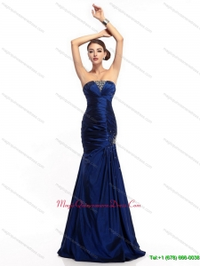 2015 Discount Strapless Mermaid Dama Dress with Beading