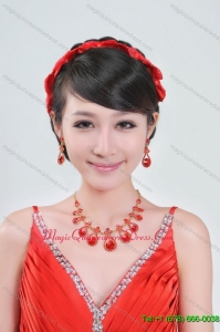 Beautiful Alloy with Crystal Women Jewelry Sets