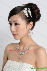 Beautiful Alloy Rhinestones Ladies Jewelry Sets