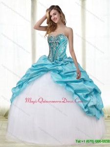 Romantic Multi Color Quinceanera Dresses with Embroidery