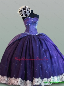 In Stock Sweetheart Quinceanera Dresses with Lace for 2015