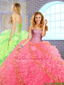 Fashionable Ball Gown Sweetheart Quinceanera Dresses for 2016