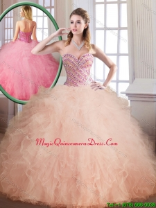 Classic Floor Length Sweet 16 Dresses with Ball Gown