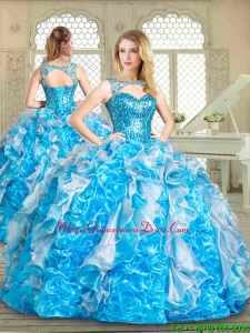 Magic Miss Sweetheart Quinceanera with Paillette and Ruffles