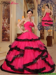 Classic Ball Gown Strapless Beading Quinceanera Dresses