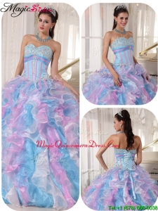Beautiful Sweetheart Ruffles and Magic Miss Quinceanera Quinceanera Dresses