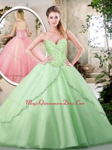 Cute Ball Gown Sweet 16 Dresses with Appliques