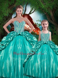 Pretty Ball Gown Sweetheart Beading Princesita with Quinceanera Dresses