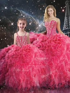 2016 Pretty Ball Gown Sweetheart Princesita with Quinceanera Dress with Beading
