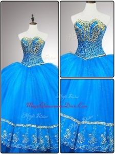Fashionable Custom Made Quinceanera Dresses with Appliques