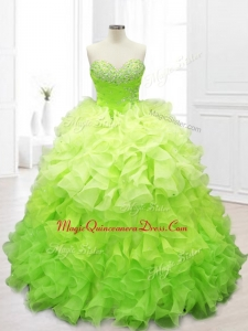 New Arrivals Custom Made Sweet 16 Dresses with Beading and Ruffles