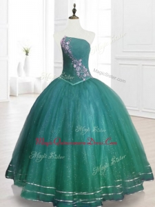 Classical Strapless Custom Made Quinceanera Dresses