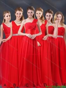 Fashionable Ruching Empire 2015 Feminine Dama Dresses