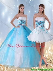 Hot Sale Multi Color Quinceanera Dress with Appliques and Beading