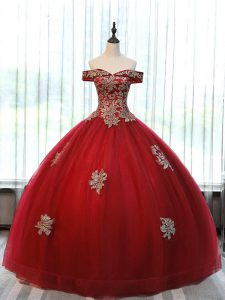 Sleeveless Beading and Appliques Lace Up 15 Quinceanera Dress