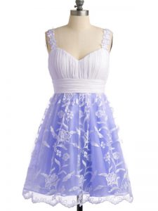 Discount Sleeveless Lace Lace Up Dama Dress for Quinceanera