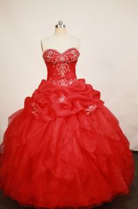 Sweetheart pick-ups and Appliques Quinceanera Dress in Pereira Colombia