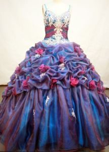 Multi-color Strap Appliques and Pick-ups Quince Dress in Carepa Colombia