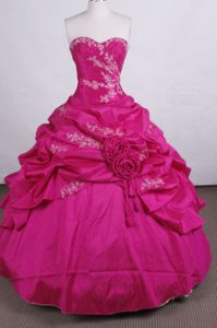 Appliques with Beading Sweetheart Quinceanera Dress in San Gil Colombia