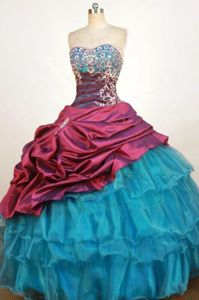 Bead Sweetheart Pick Up Dress For Quinceanera in Steffisburg Switzerland