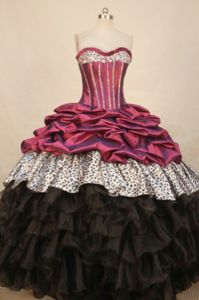 Taffeta Sweetheart Beading Sweet Sixteen Dress in Solothurn Switzerland