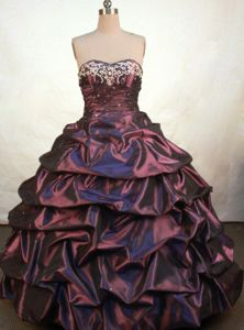 Taffeta Sweetheart Appliques Rebstein Switzerland Quinceanera Gowns