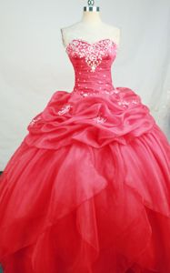 Ball Gown Sweetheart Pick Up Murgenthal Switzerland Quinceanera Dress