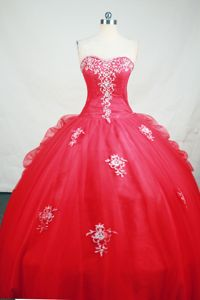 Cheap Sweetheart Appliques Pick Ups Hot Pink Dresses for Quinceanera