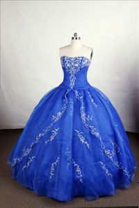 Embroidery Strapless Layers Sweet Sixteen Dress in Locarno Switzerland