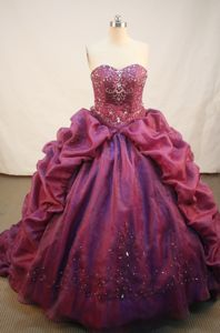 Sweep Train Strapless Lengnau Switzerland Quinceanera Gown Dresses