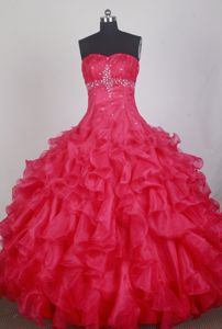 Ruched Sweetheart Beading Quinceanera Gowns in Chiasso Switzerland
