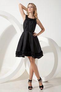 Black Scoop Black Mini-length 15 Dresses For Damas in Taffeta in Poulsbo