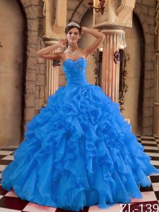 Diamonds Ruffles and Ruche Sweet Sixteen Quinceanera Dresses in Fashion