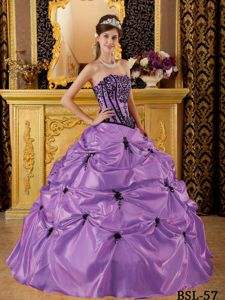 Embroidery and Pick Ups Lilac Sweet Sixteen Dresses in Marysville WA