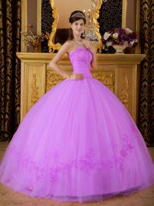 Ruching and Embroidery Decorated Sweet 16 Dresses in Saint Albans