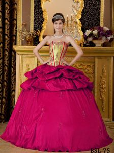 Red and Yellow Green Bodice Pick Ups Sweet 16 Dresses near Point Roberts