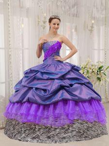 Cute Strapless Beading Sweet Sixteen Dresses in Machala Ecuador