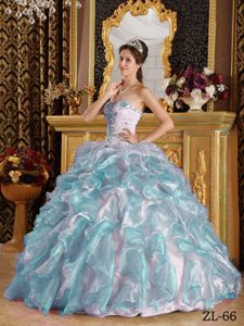 Ruffles and Embroidery Multi-color Sweet Sixteen Dresses in Snoqualmie
