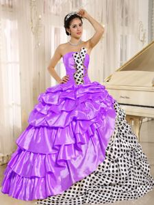 Popular Strapless Muti-Color formal Quinceanera Gowns with Ruffles in El Segundo