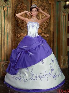Purple Boning Details and Appliques for Quince Dress in Logan City QLD