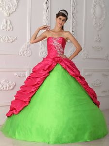 Sweetheart Appliques and Ruche Accent Sweet 16 Dresses in Abbeville