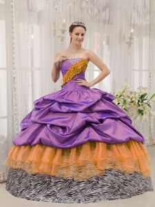 Exclusive Strapless Beading Sweet Sixteen Quinceanera Dresses in Evergreen