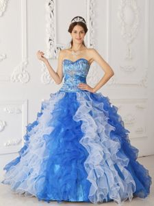 Multi-color A-Line Sweetheart Sweet 15 Dresses in Chelsea with Beading